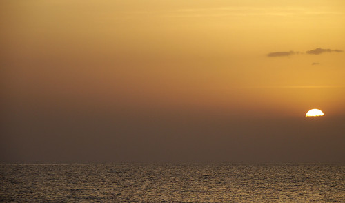 Sunset Over Piran