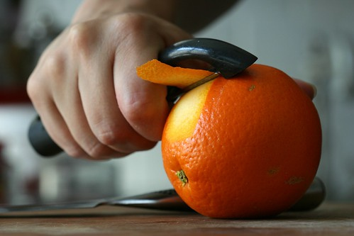 shaving off some orange peel | by chockylit