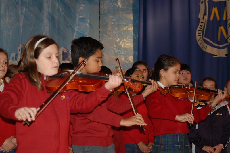 Primaria. Festival musical.