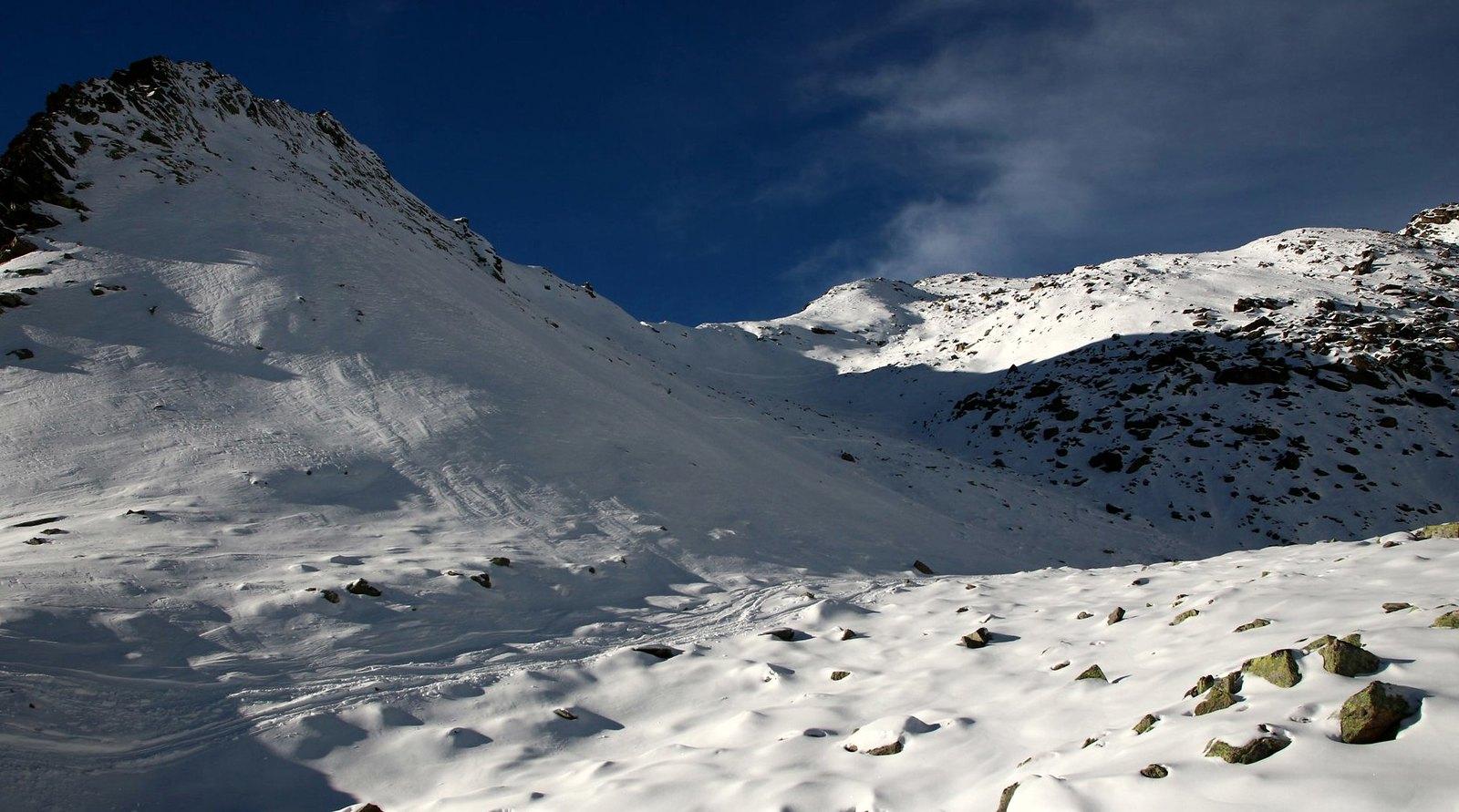 Pirchkogel (2.828 m), Kühtai, 3.12.2016