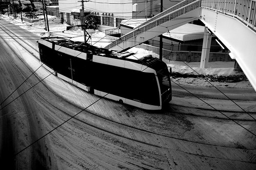 Tramcars at Sapporo on DEC 29, 2016 (67)