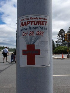 Rapture sign -- Holding up well after 14 years... | by marcn