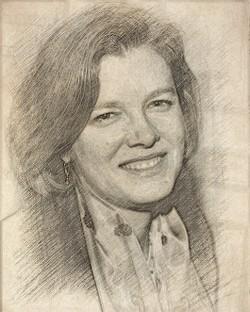 Elizabeth Neuffer Sketch Portrait