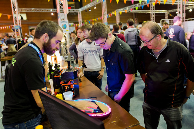 Grenoble Mini Maker Faire - Octobre 2015