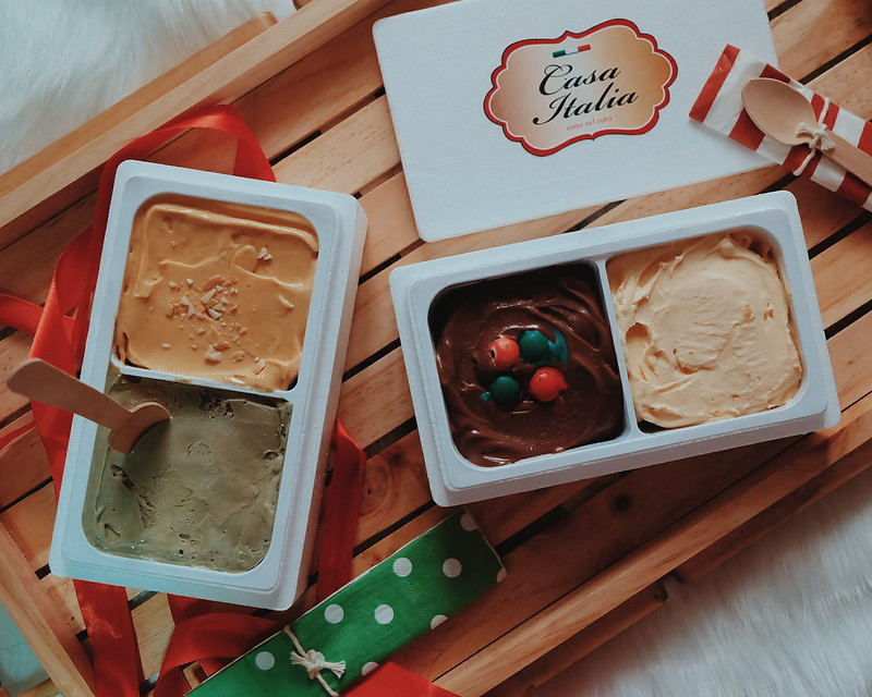 Casa Italia's New Gelati Flavors: Salted Egg, Toffee Nut and Peppermint Mocha