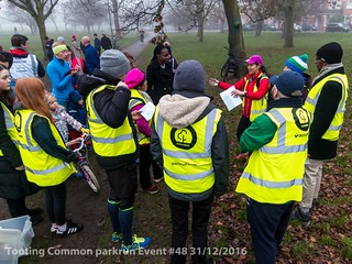 Tooting Common parkrun event #48 31/12/2016