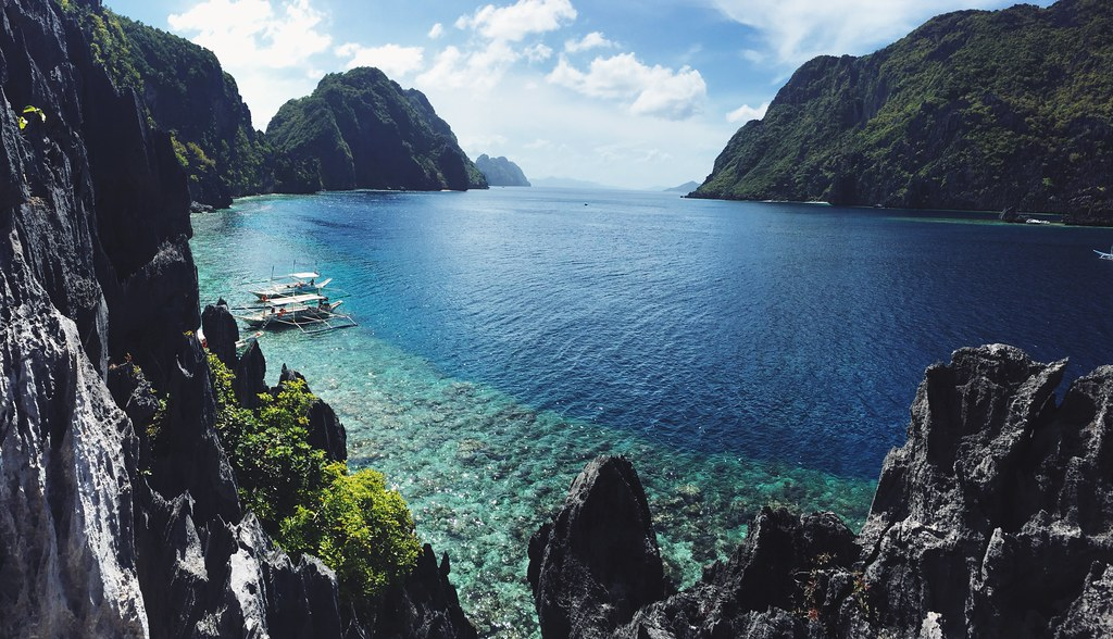 View from Matinloc - El Nido, Palawan, Philippines