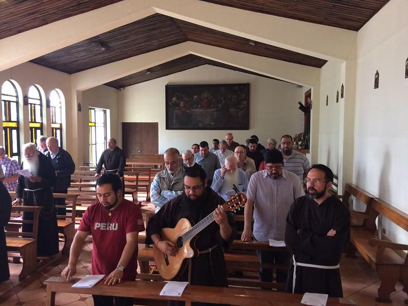 Visita Ministro General Capuchinos - Asamblea con Provincia de Chile