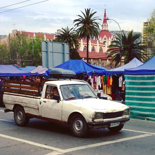 Peugeot 504 Pickup - Valparaíso, Chile