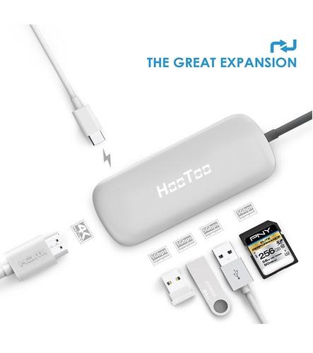 HooToo Type-C 3 USBハブ 3.0ポート