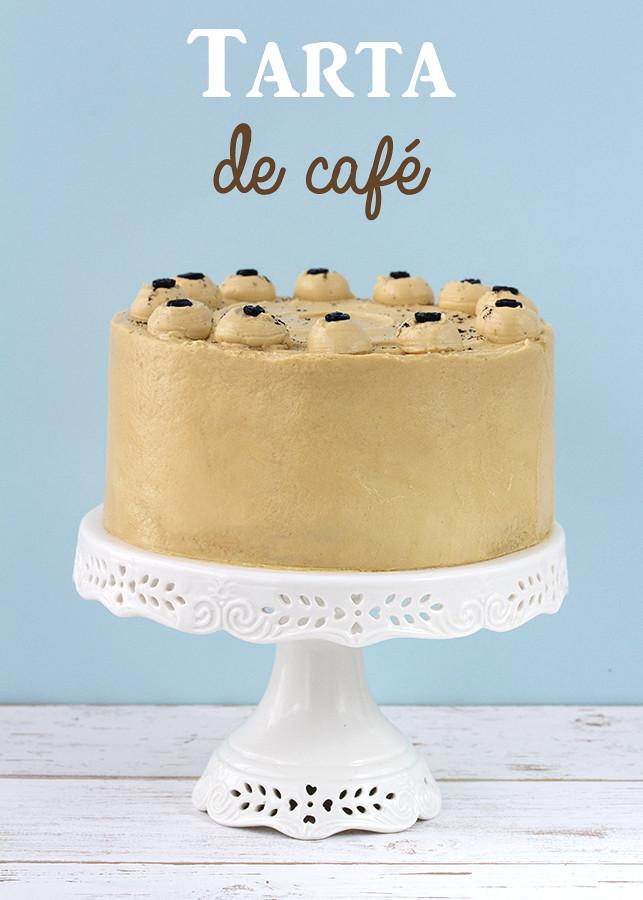 receta tarta cafe