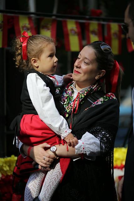 Desfile día de la Hispanidad 2015
