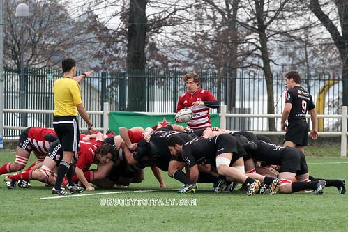 ASR Milano - Colorno Rugby 11.12.2016