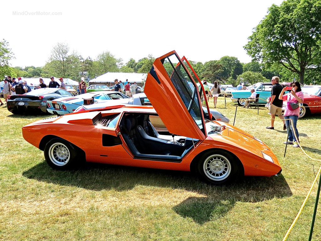 Lamborghini Countach Greenwich 4