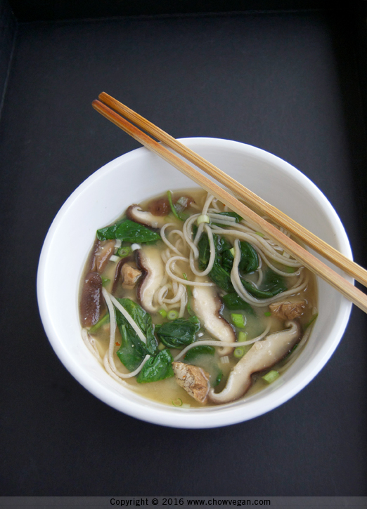 The Healthiest Diet on the Planet Soba Miso Soup