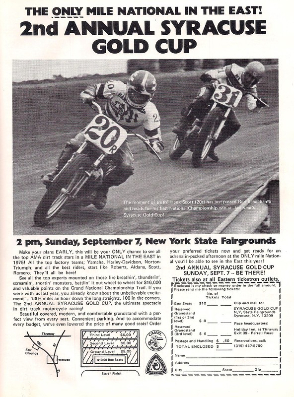 Syracuse Gold Cup 1975