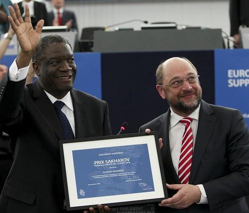 Martin SCHULZ - EP President, Denis MUKWEGE