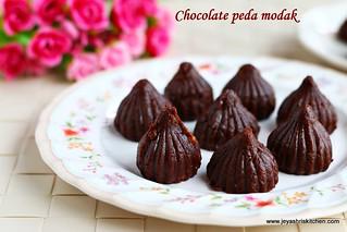 chocolate peda modak