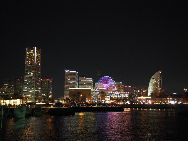 Yokohama City Night at Christmas Eve 2016 (30)