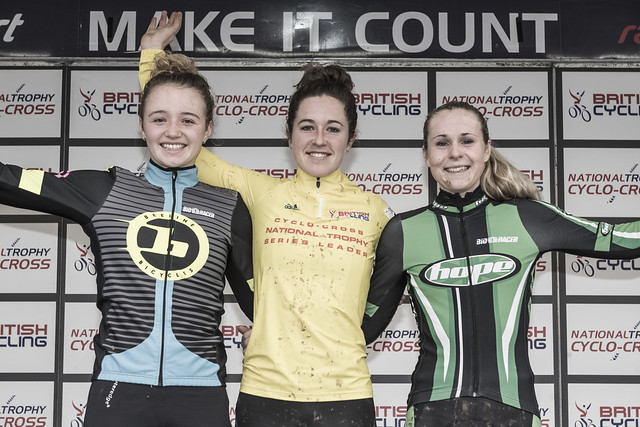 British Cycling National Trophy Series round 5, Shrewsbury, 11 December 2016, Elite Women