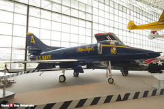 154180 4 - 13637 - US Navy Blue Angels - Douglas A-4F Skyhawk - The Museum Of Flight - Seattle, Washington - 131021 - Steven Gray - IMG_3513
