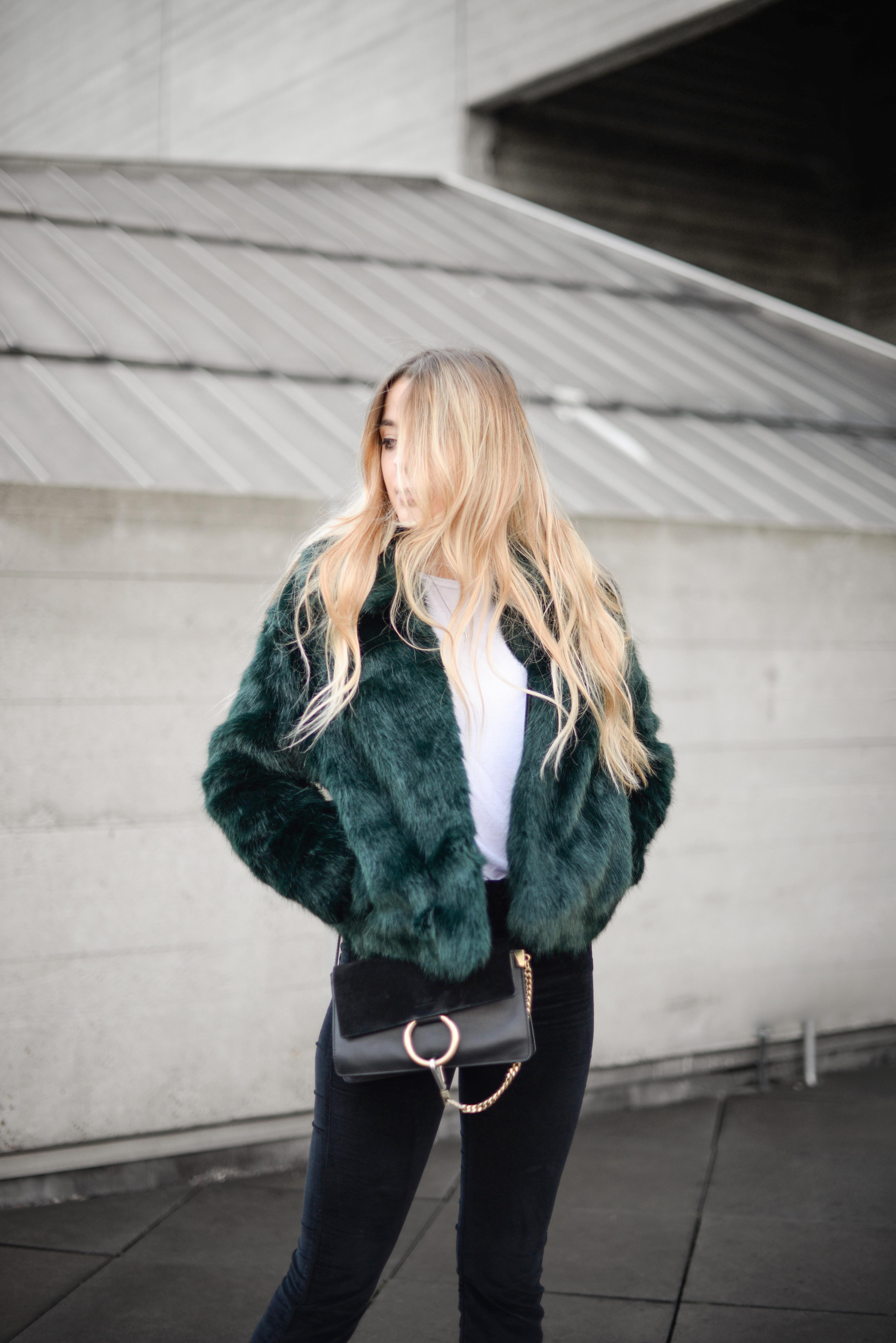 Green fur
