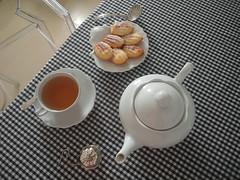 chá e madeleines