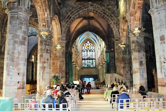 Recital at St Giles Cathedral, Edinburgh, Scotland.