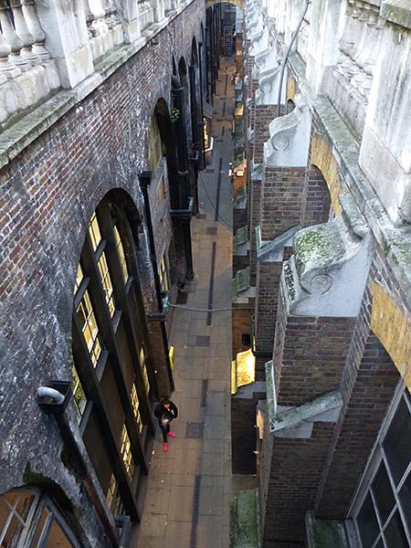 étonnante ruelle de Londres