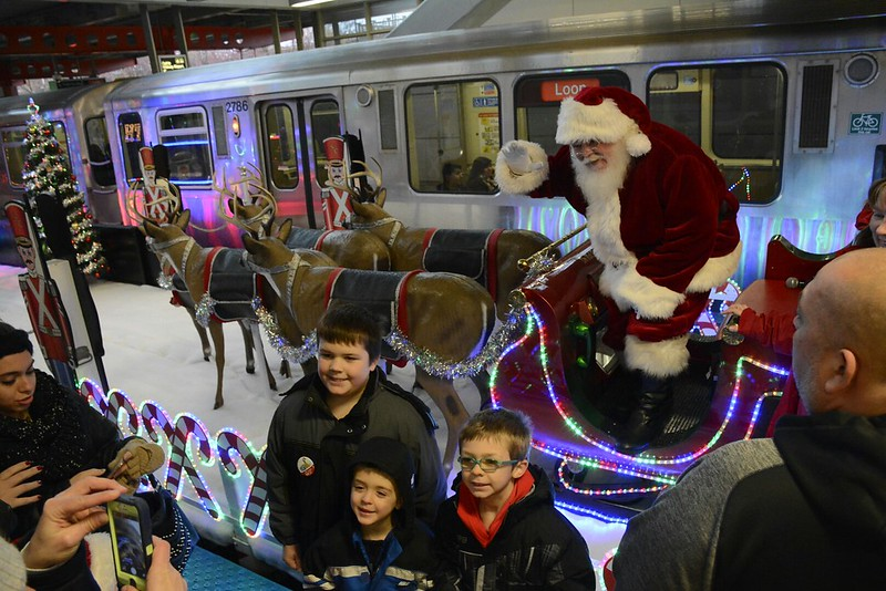 2015 Sprint CTA Holiday Train