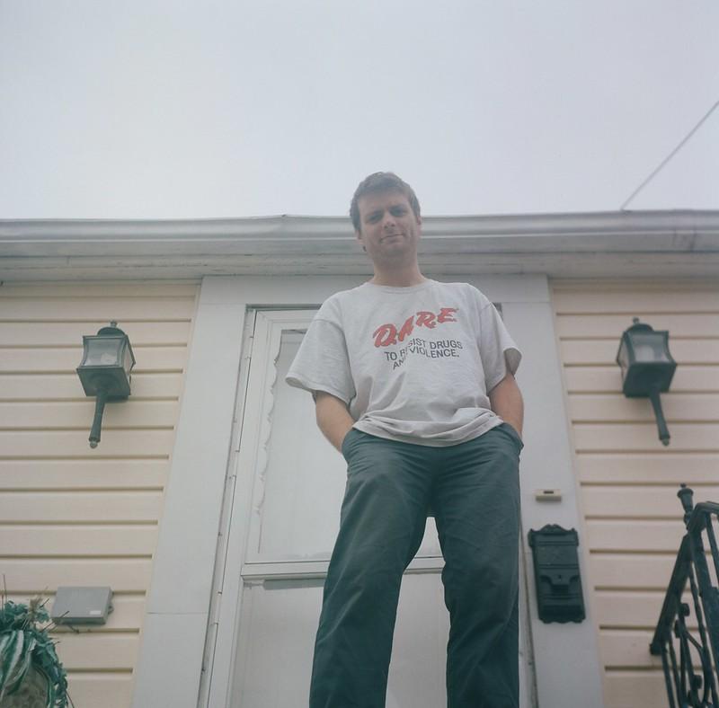 Mac at his old home in Rockaway