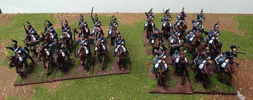 28mm French Napoleonic Cavalry & Guns