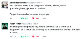 Women are people