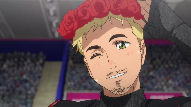 Christophe got to be cute too.