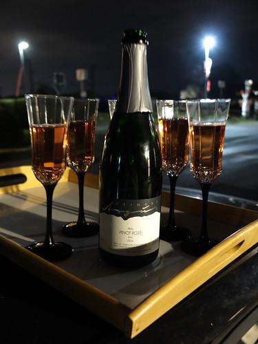 Sekt (Pinot Rosé)  zum Jahreswechsel 2016/17
