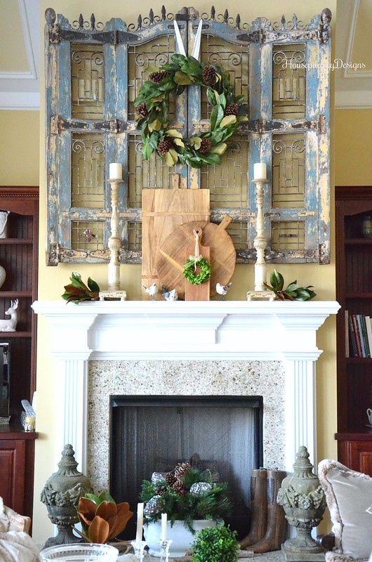 Winter Home Tour-Mantel-Housepitality Designs