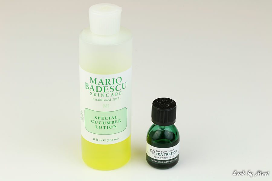 3 mario badescu special cucumber lotion toner the body shop tea tree oil review kokemuksia