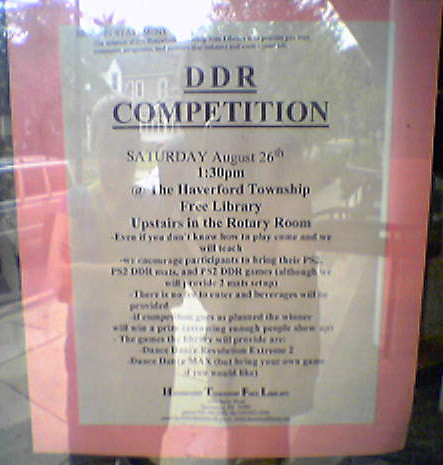 DDR Competition at Haverford Township Library | by nengard