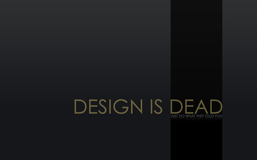 Design is Dead | by i-marco