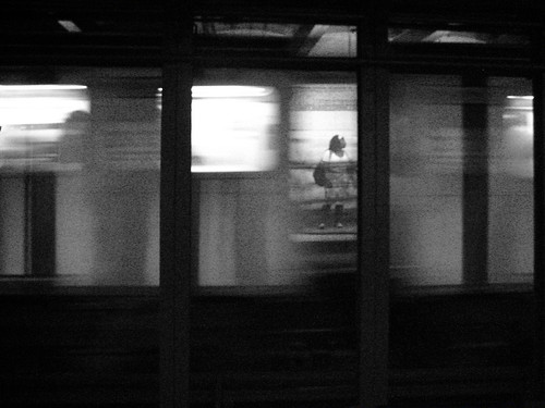 Woman & Train | by infectedwithrage