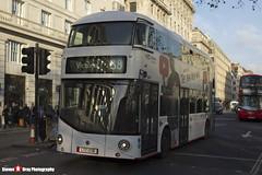 Wrightbus NRM NBFL - LTZ 1226 - LT226 - YouTube CF - Victoria 38 - Arriva London 38 - London - 161126 - Steven Gray - IMG_5143