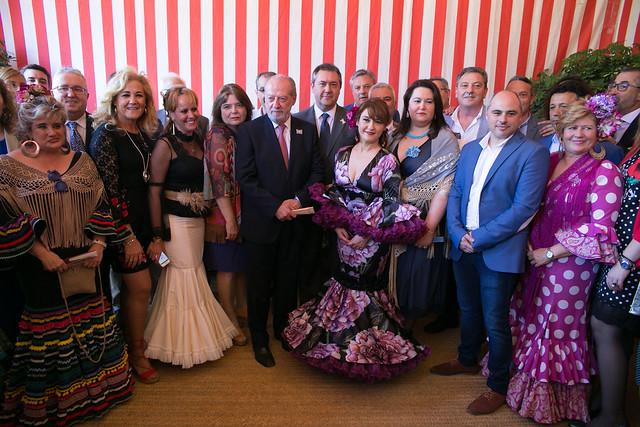 04-190418 Feria Abril 2018, Recepción Diputación Provincial de Sevilla.
