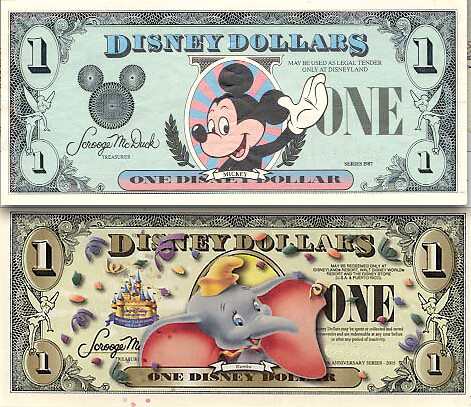 Disney Dollars – then and now | by idogcow