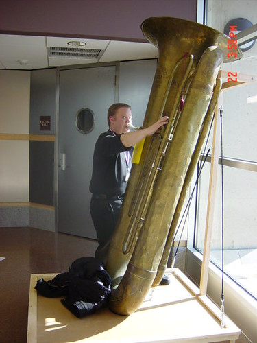 Me Playing a Sub-Contrabass Tuba | by TubaOrNotTuba