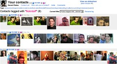 Flickr Contacts Organiser - GreaseMonkey Script | by steeev