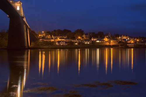 Menai Bridge | by abstract_effects