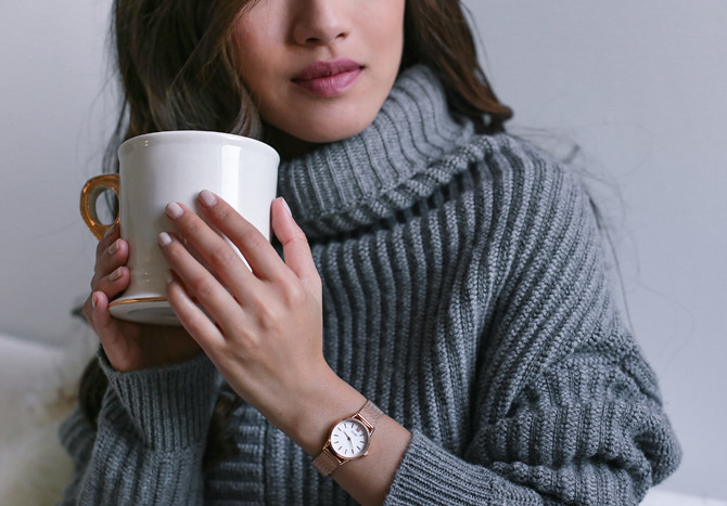 cluse mini watch cozy knits extra petite