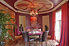 Bold Dining Room | by champagne.chic