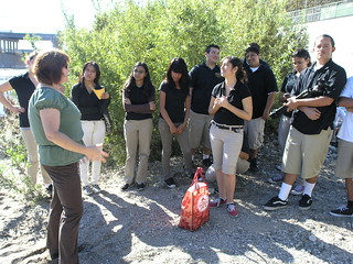 Students Listening to Shelly Backlar | by KCET Departures