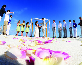 Oceanfront Ceremony at The Palms Beach | by thepalmshotel